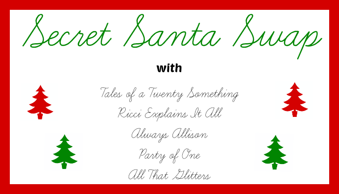 secret santa swap secret santa party invitation card