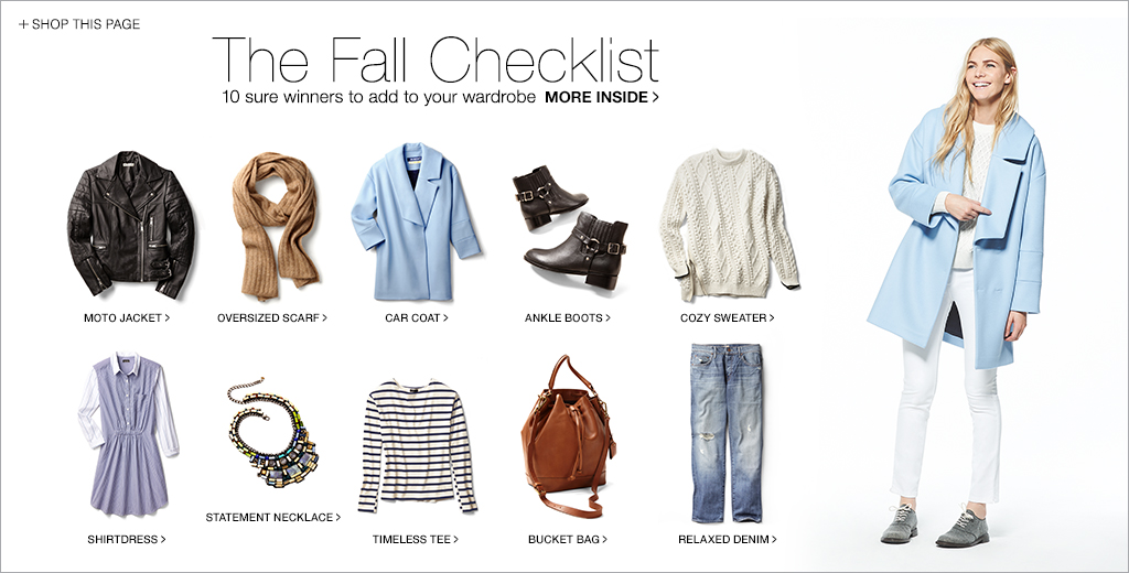 The Fall Checklist