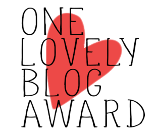 one lovely blog award, blog award, rebekaheliz one lovely blog award