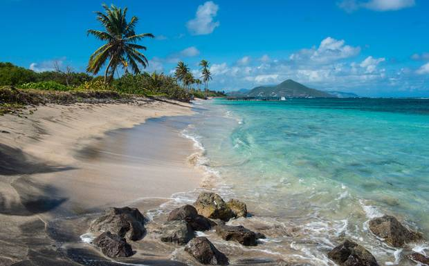 nevis, west indies, nevis west indies, st kitts, st kitts west indies, nevis island, nevis beach, blue sky, crystal water, ocean