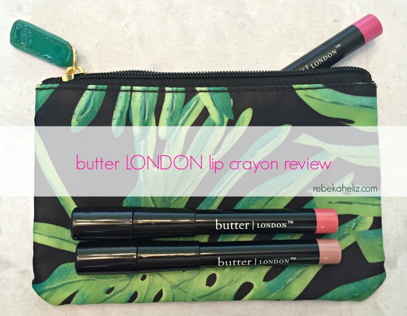 butter LONDON, lip crayon, lipstick, lipstick review, butter LONDON review