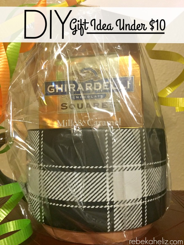 under 10 gift idea, mug gift, mug, gift idea, inexpensive gift idea, DIY gift idea