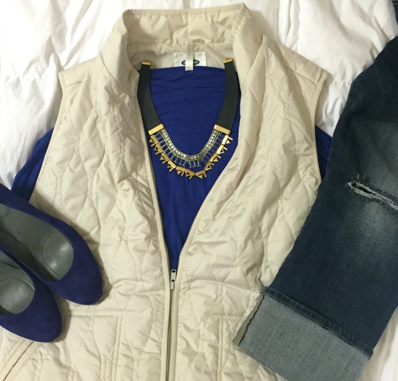 stella and dot, stella dot, cobalt, outfit, ootd