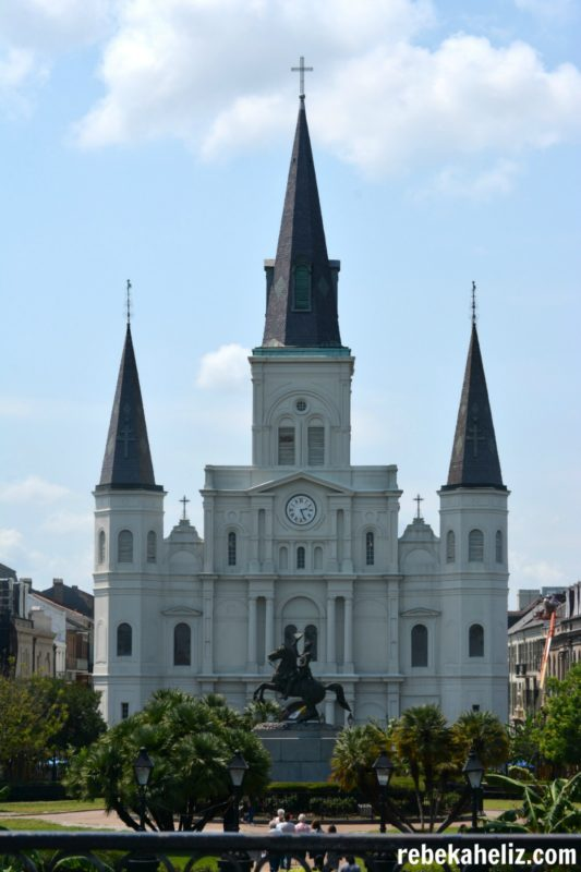 jackson square, cathedral, st. louis cathedral, new orleans, NOLA