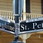 street signs NOLA, new orleans, dauphine