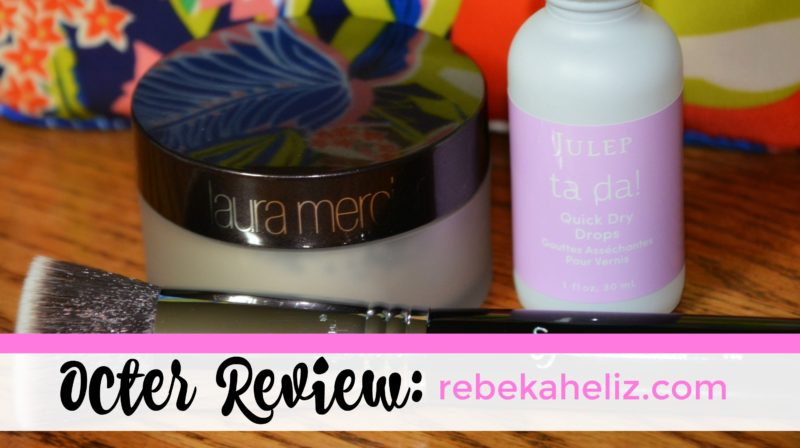 octer review, rebekaheliz, julep, laura mercier, sigma