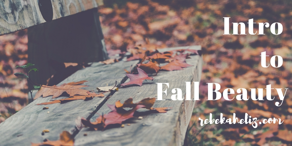 intro fall beauty, rebekaheliz, fall, nail polish