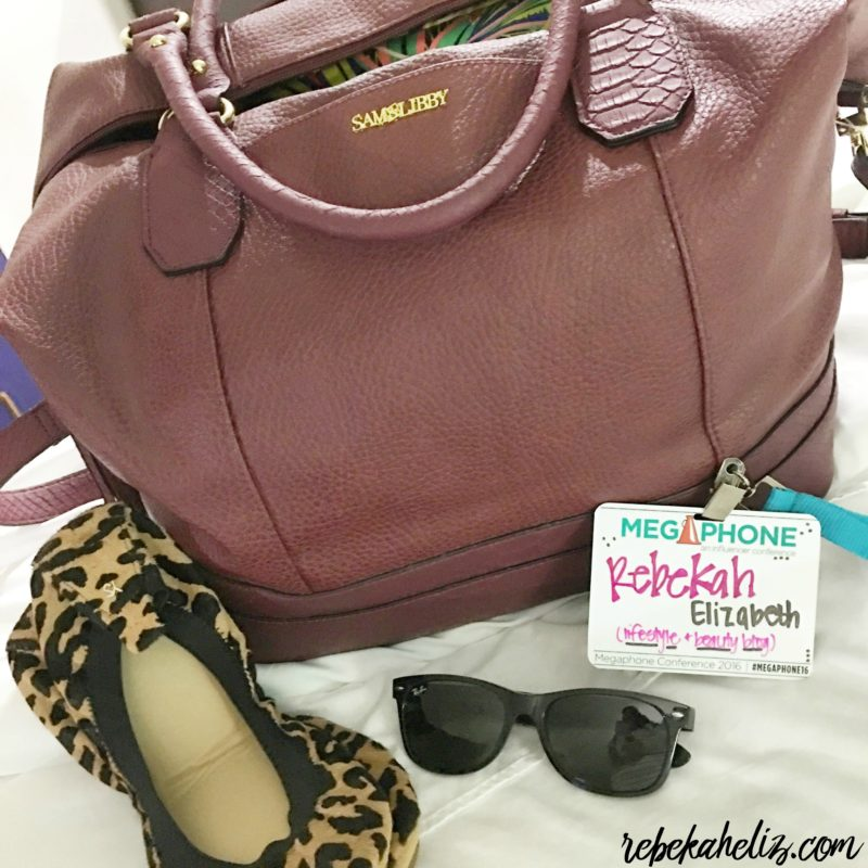 burgundy tote, target, ray ban, sunglasses, name tag, leopard flats, yosi samara