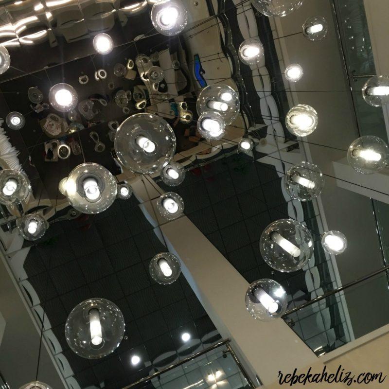 chancellor hotel, fayetteville arkansas, downtown hotel, downtown fayetteville hotel, ceiling, mirror, cool ceiling