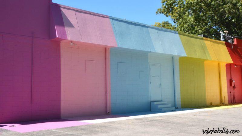 maude wall, maude, rainbow, rainbow wall, fayetteville arkansas, arkansas, fayetteville