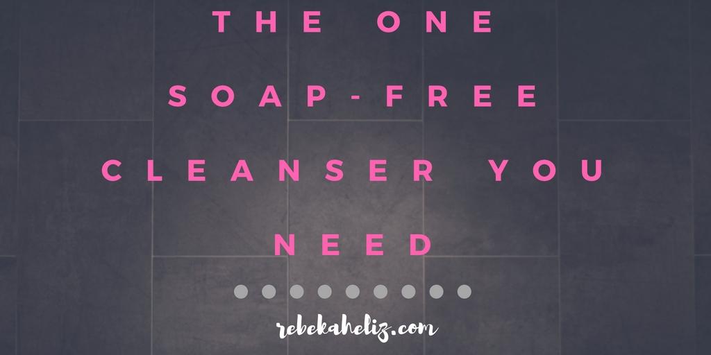 exuviance, soap-free cleanser, skincare, rebekaheliz