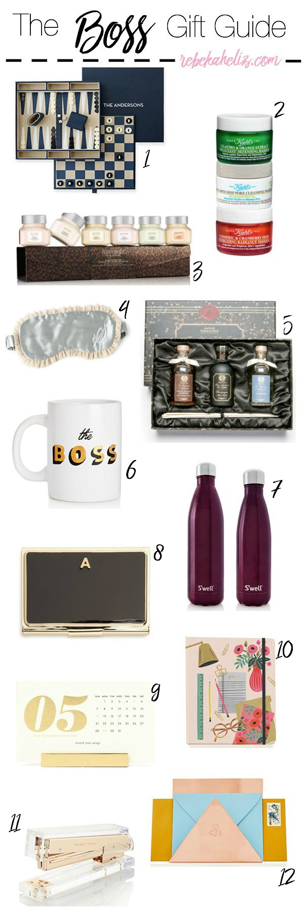 gift guide, boss, girlboss, holidays, desk accessories