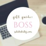 gift guide, boss, girlboss, rebekaheliz, holidays
