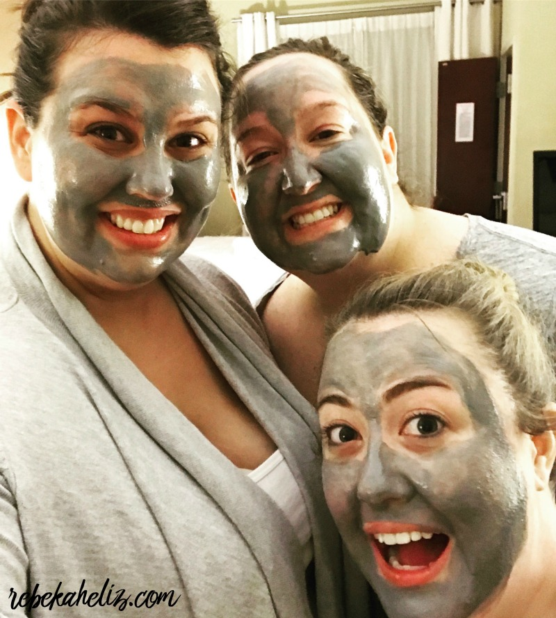 face masks, clay mask, bff, memphis
