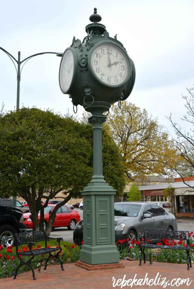 road trip, tulsa oklahoma, tulsa, oklahoma, utica square, clock