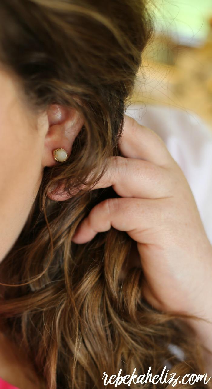 stud earrings, kendra scott