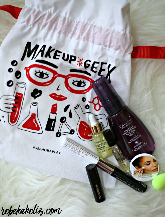 sephora play, sephora, subscription box, august, august box, monthly box, makeup, skincare, hair, perfume