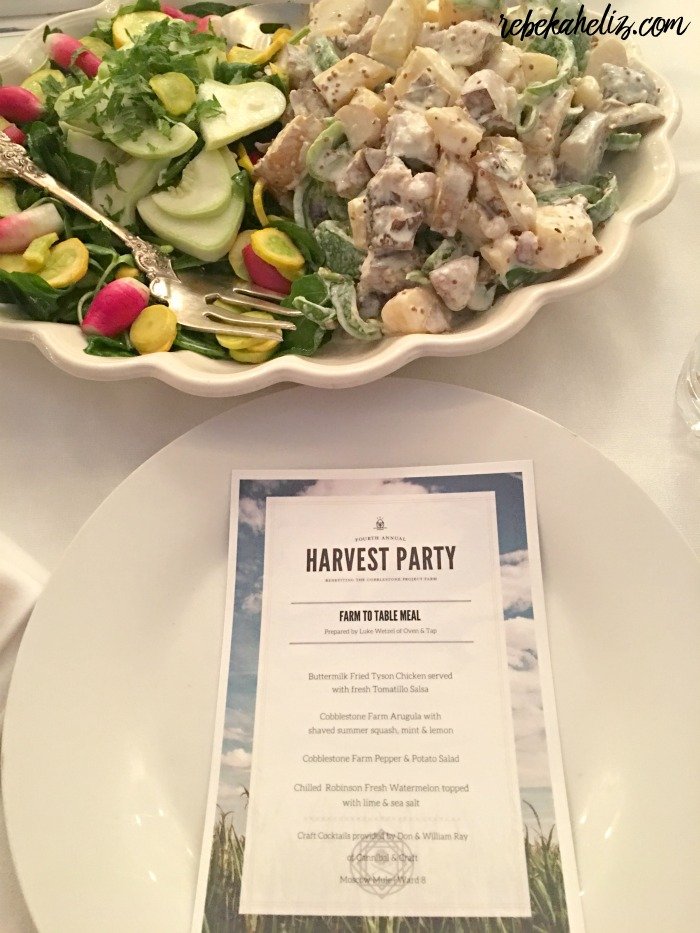 morter farm, cobblestone project, farm to table, dinner, barn