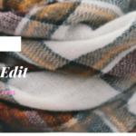 plaid scarf, lifestyle blogger