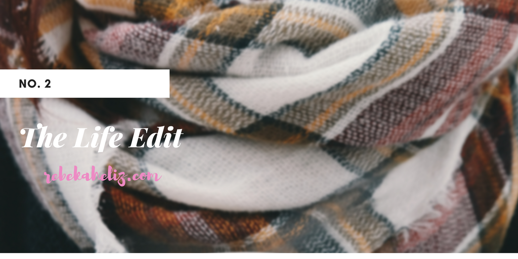 plaid scarf, lifestyle blogger