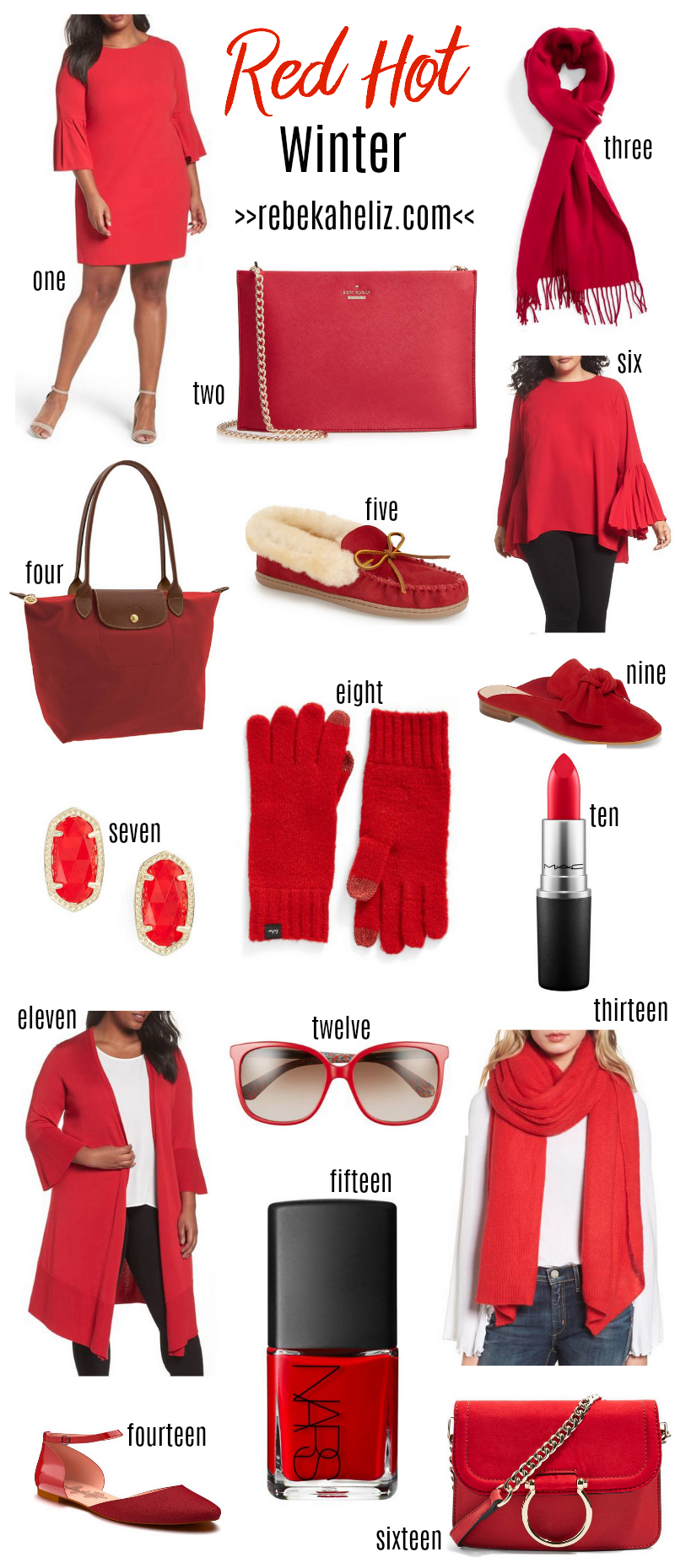red, red hot, fall style, winter style, red hot winter, red clothes, red accessories, red dress