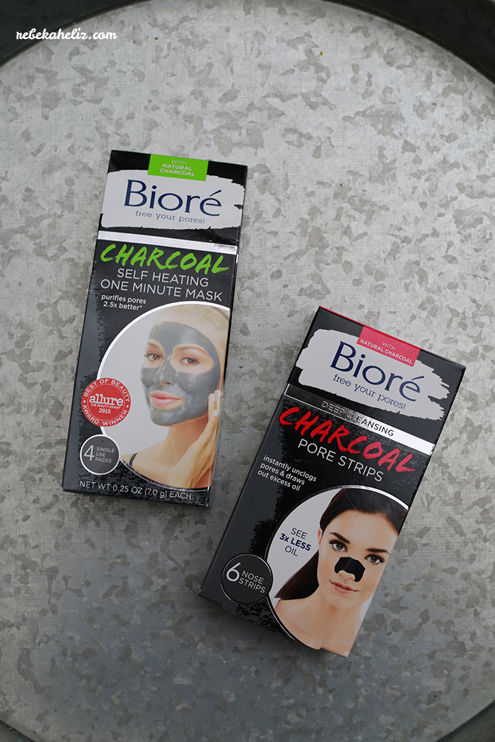 biore, biore charcoal, charcoal mask, charcoal nose pore strip, clear blackheads, blackheads, skincare