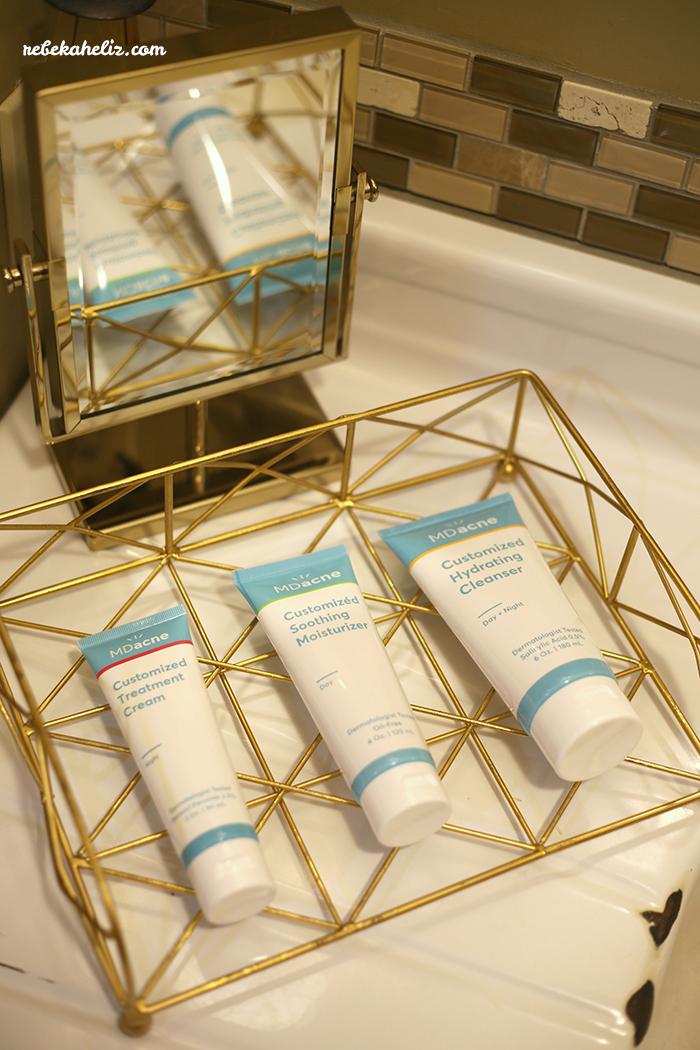 acne, MDAcne, customized skincare, skincare, cleanser, moisturizer