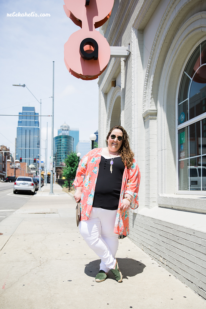 power light district, kimono, outfit, LTKcurves, kansas city, kcmo
