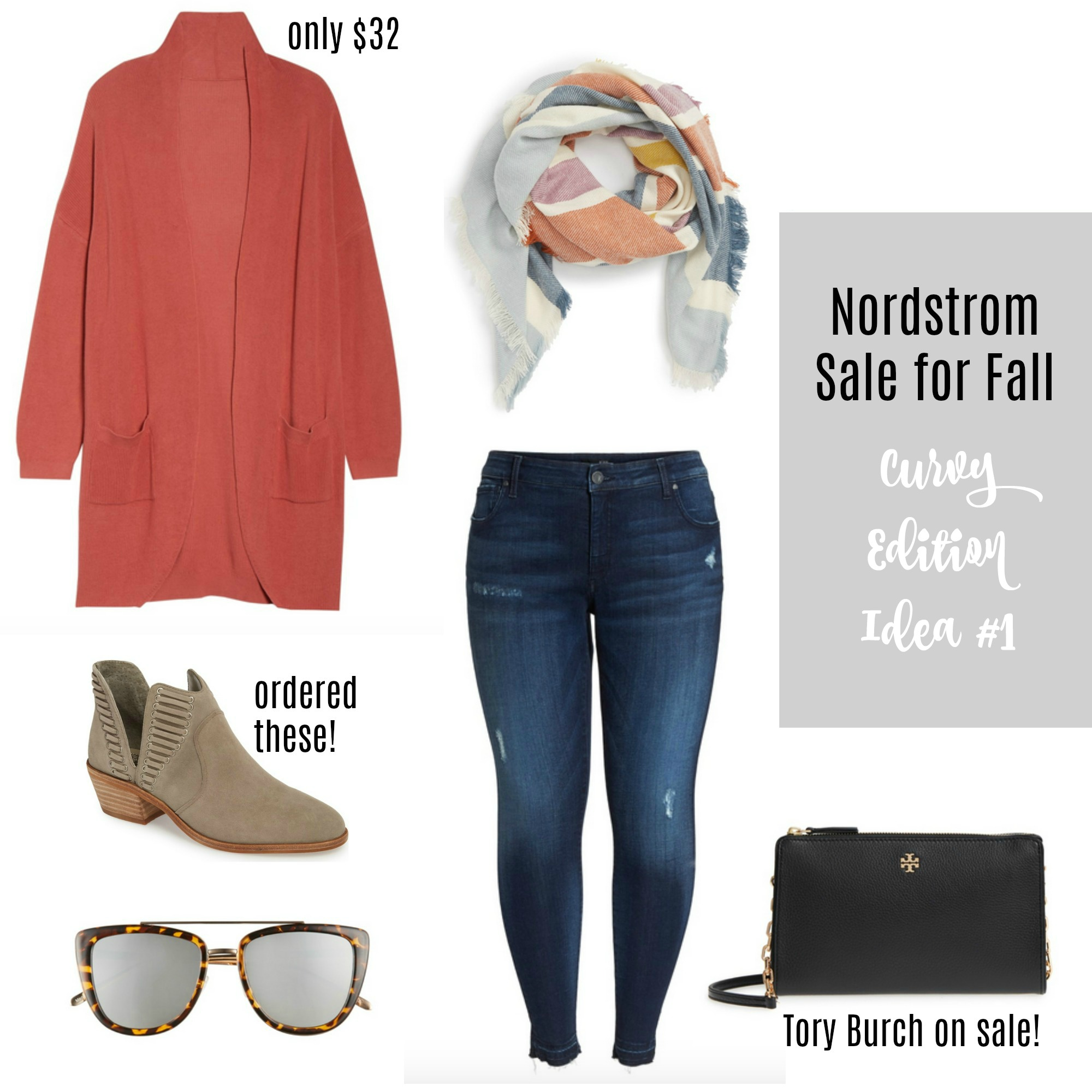 like to know it, nordstrom sale, plus size fashion, plus size style, curvy fashion, curvy style, nsale, scarf, fall, fall style, booties, fall booties