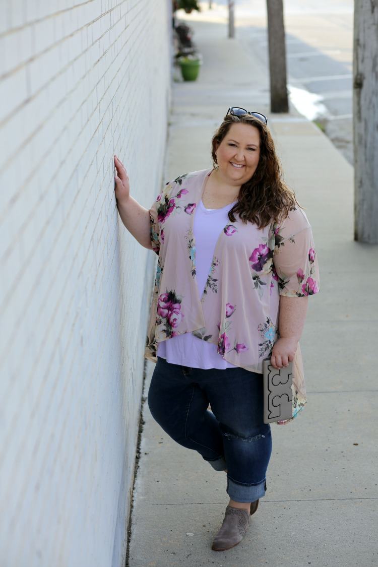 lavender, fall, fall style, purple, ootd, wiw, #rebekahelizstyle, plus size style, plus size fashion, tory burch, steve madden