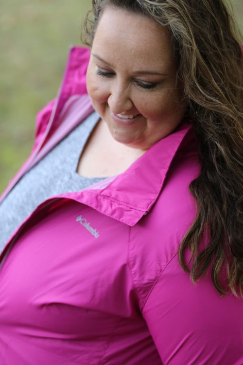 stage stores, stage, pink, pink columbia jacket, #ipinkican, breast cancer, breast cancer awareness, fall, fall style, pink jacket
