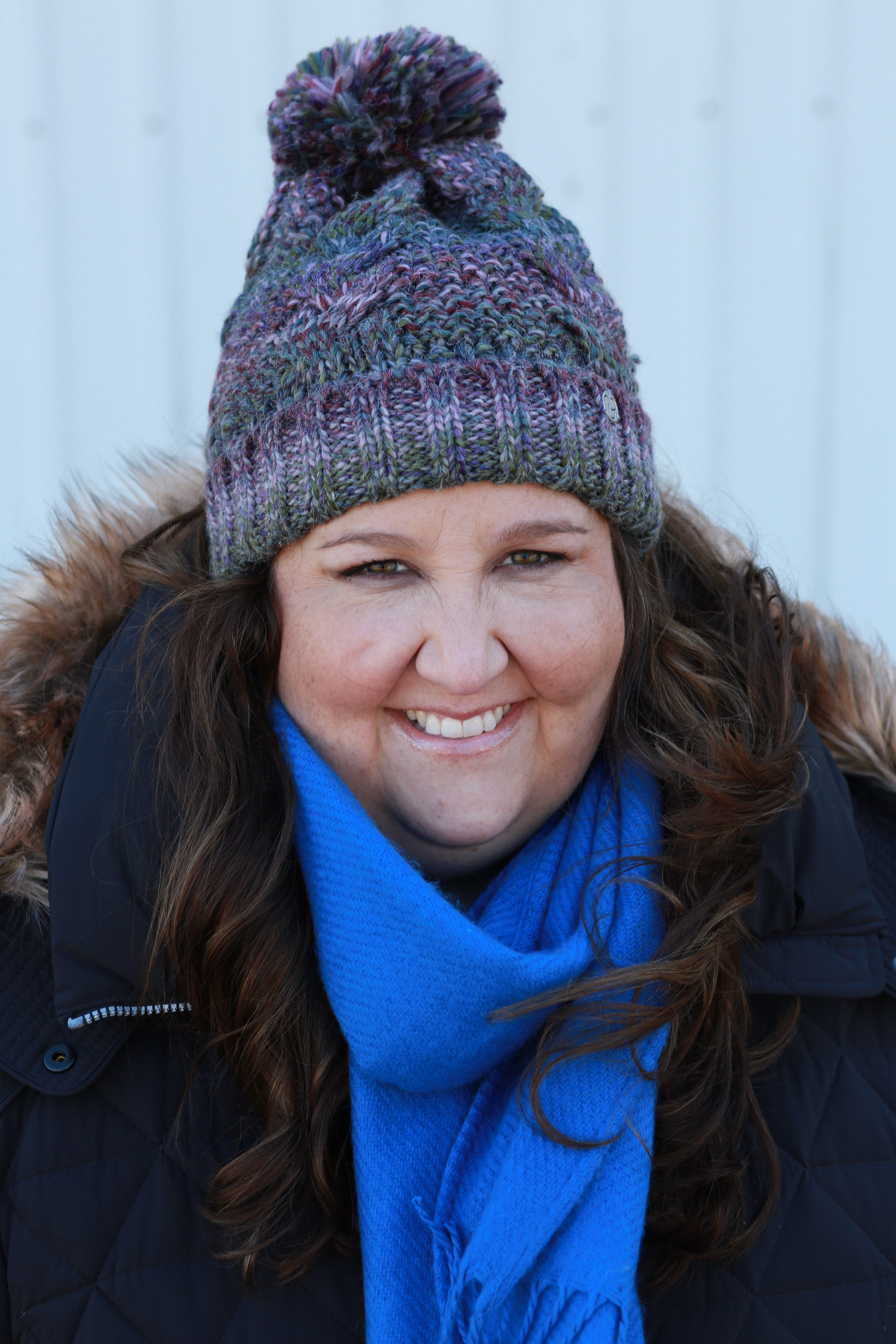 winter accessories, scarf, blue scarf, uggs, beanie, winter, winter style, winter coat, plus size style, plus size coat, #rebekahelizstyle